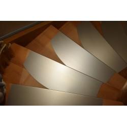 Edelstahl - Stufenauflagen